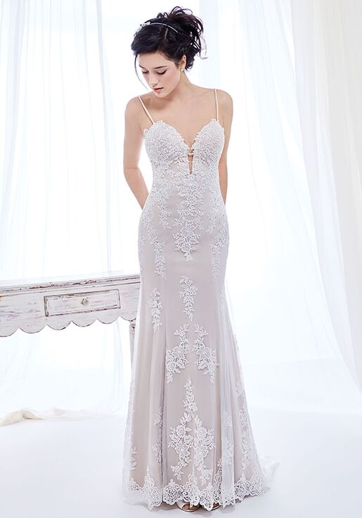 9a10ae35b096 Kenneth Winston  Ella Rosa Collection BE417 Wedding Dress - The Knot