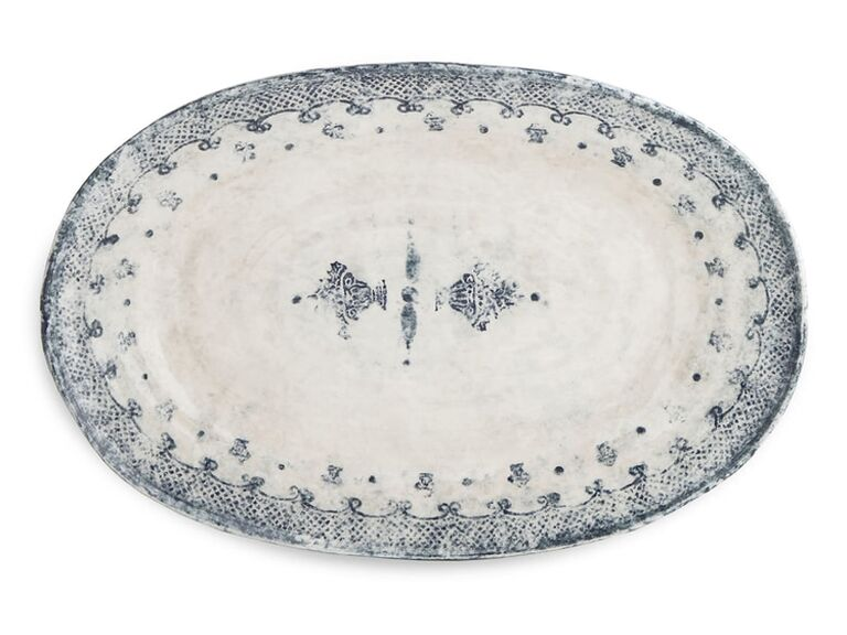 Burano oval serving platter