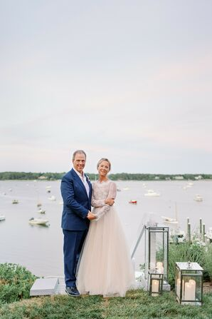 Waterfront Couple Portraits in Cape Cod, Massachusetts