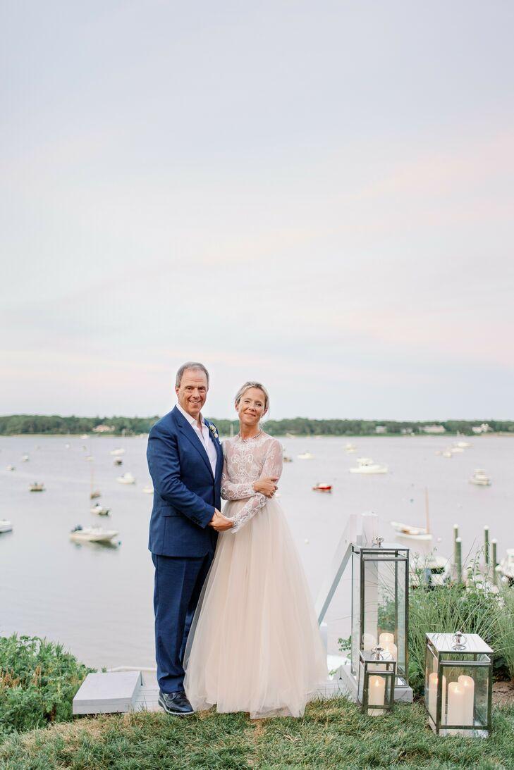 Waterfront Couple Portraits in Cape Cod, Massachusetts