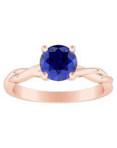 DiamondWish.com Elegant Round Cut Engagement Ring