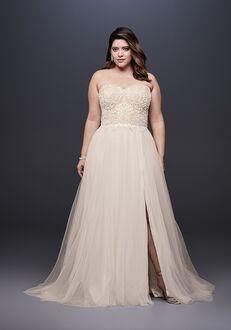 David's Bridal Galina Signature Style 9SWG764 A-Line Wedding Dress