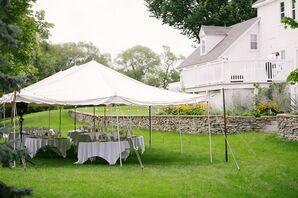 Outdoor Tent Reception at Riedel Farm Estate