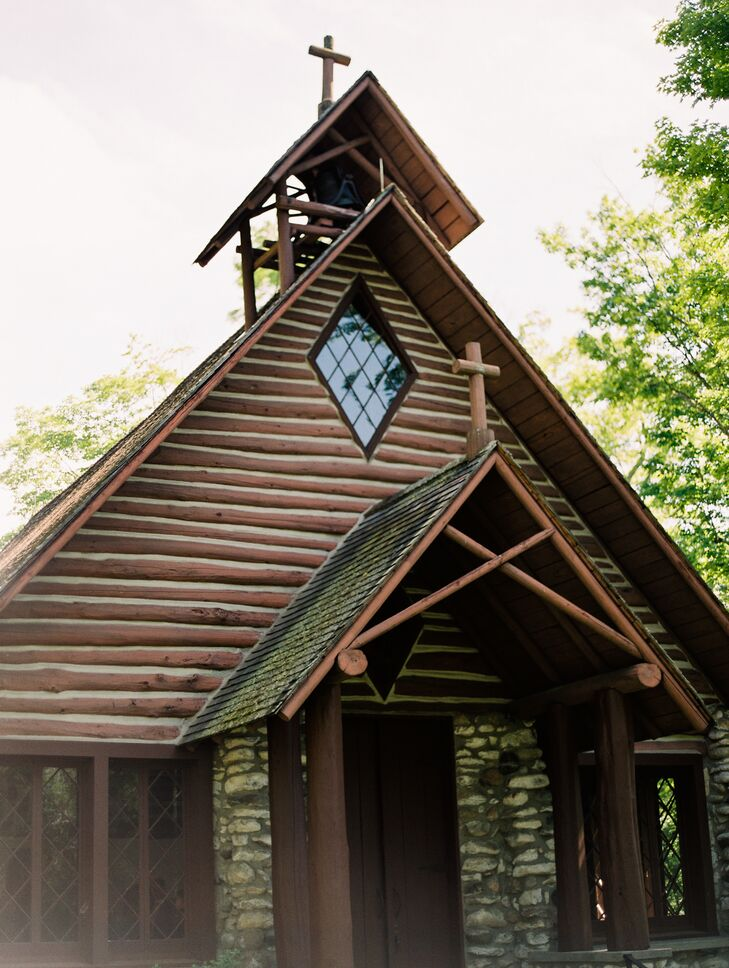 Rustic Chapel in Northport, Michigan