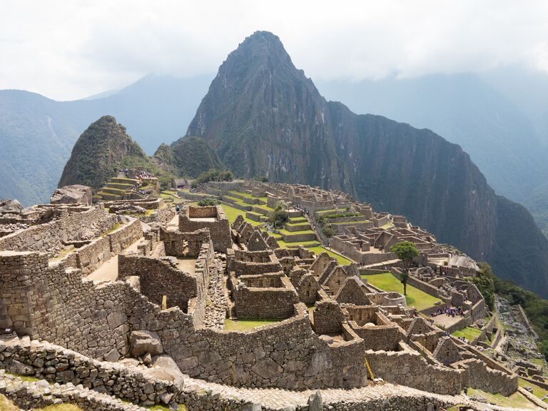 Exotic honeymoon Machu Picchu, Peru