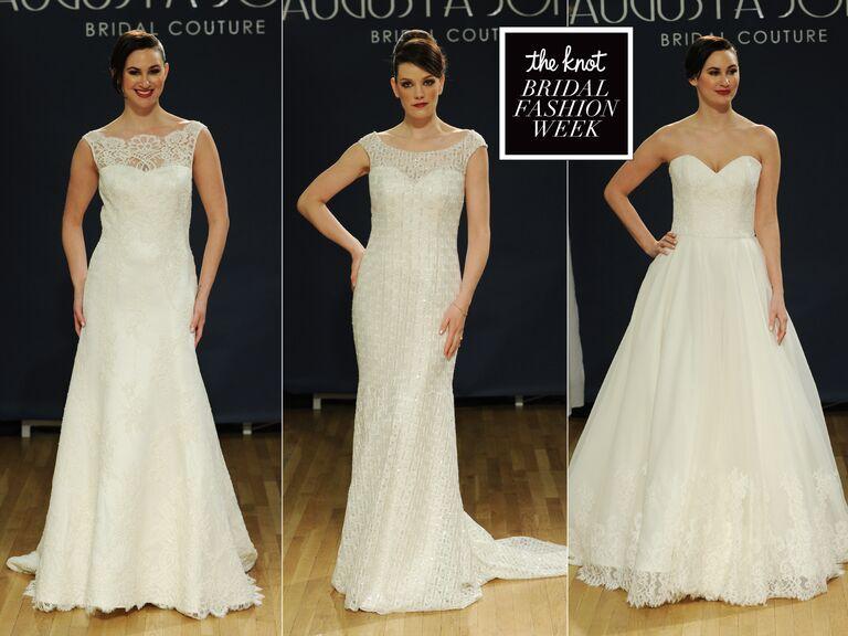 Augusta Jones Spring Wedding Dresses: Bridal Fashion Week Photos