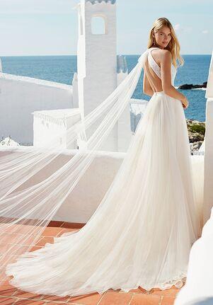 Aire Barcelona QUARK Sheath Wedding Dress