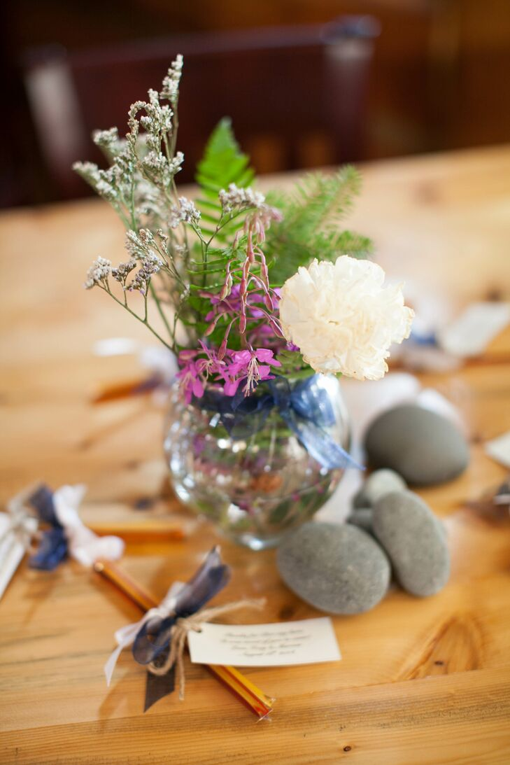 Rustic Rock Centerpiece