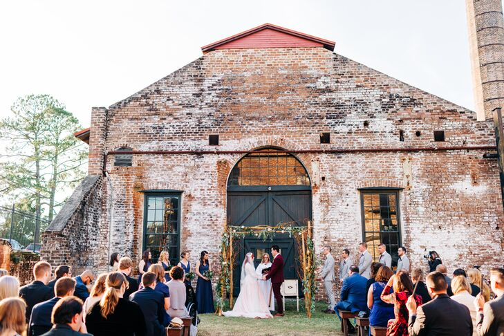 Industrial Outdoor Ceremony at the Georgia State Railroad Museum
