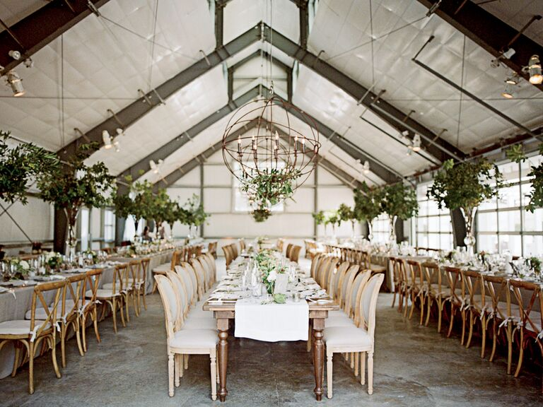 Lighting design for an indoor urban wedding reception & Wedding Reception Lighting Basics