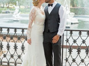 Amanda del Busto (30 and an attorney) and Enmanuel (Manny) Suriel (30 and an entrepreneur) met through work and dated for six years before getting eng