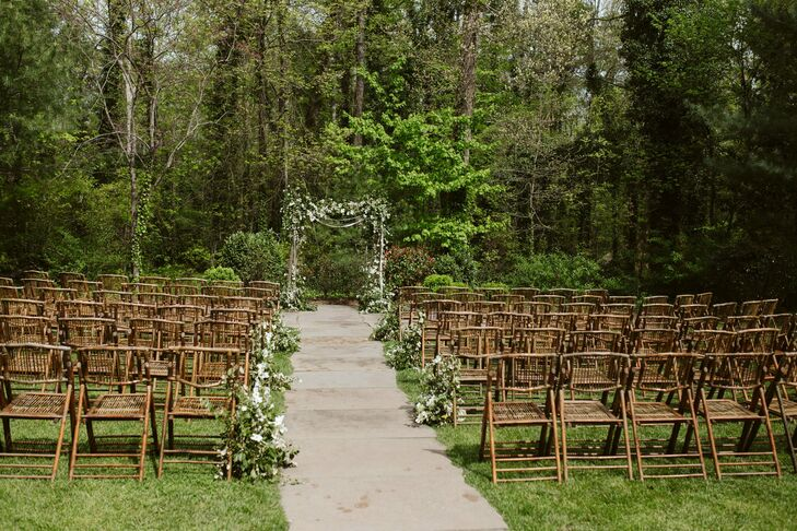 Natural and Bohemian-Style Ceremony at RT Lodge