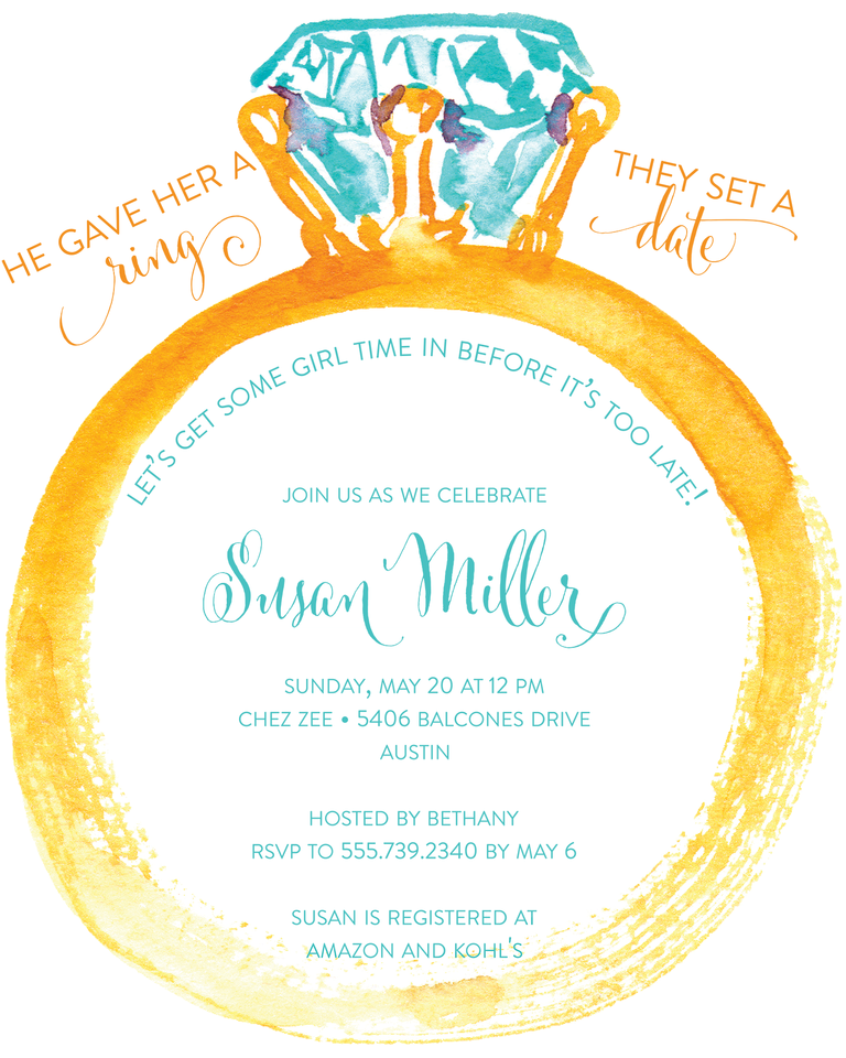 Bridal shower invitation wording ideas and etiquette funny bridal shower invitation wording stopboris Gallery