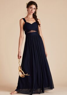 Birdy Grey Elsye Dress in Navy Sweetheart Bridesmaid Dress