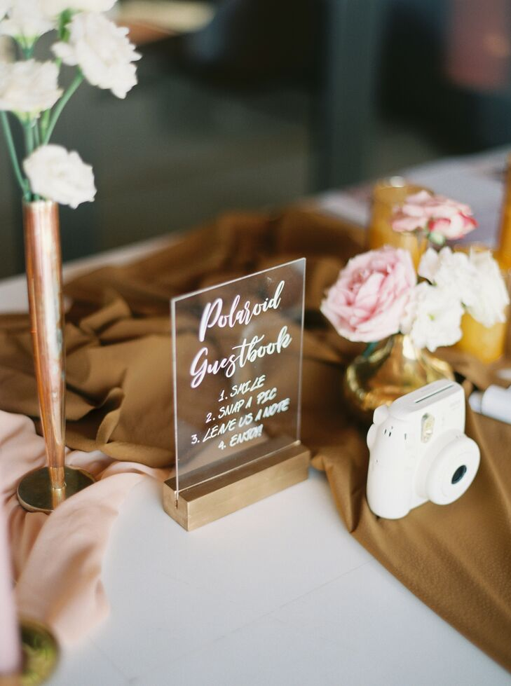 Polaroid Camera Guest Book at Phuket, Thailand, Wedding