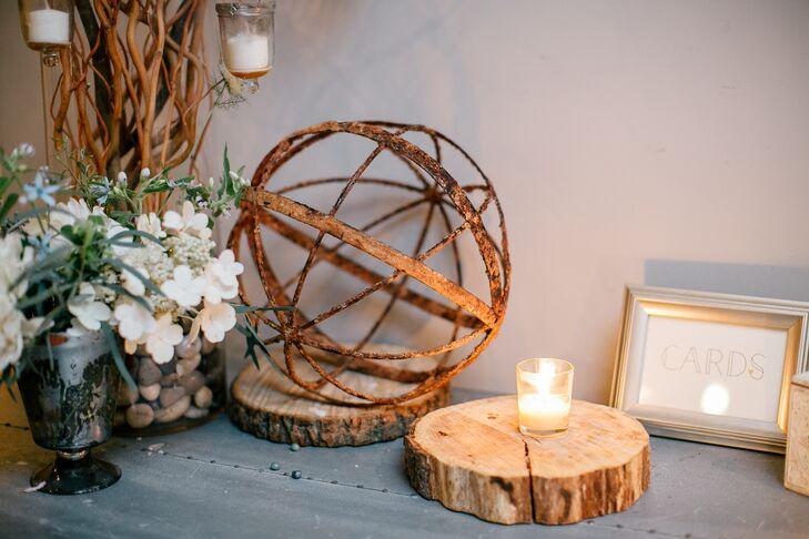 Decorative Natural Wood Accents