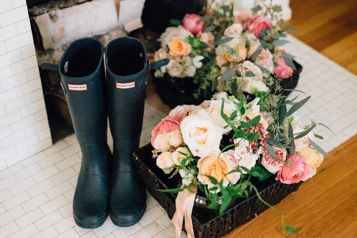 Bridal Hunter Boots