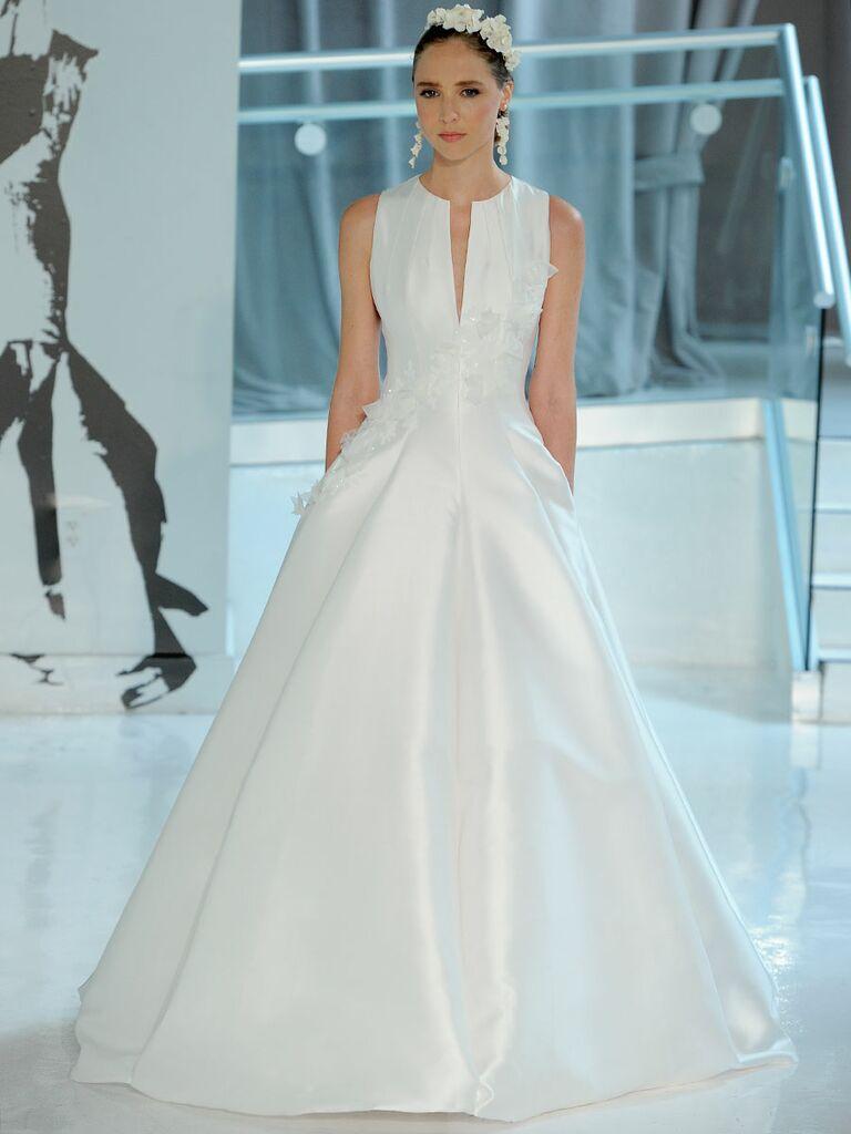 Peter Langner Spring 2018 Collection: Bridal Fashion Week Photos