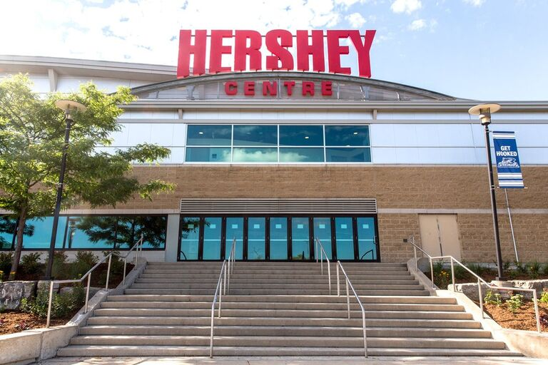 In 2010, we worked together at the Hershey Centre. We never would've guessed that we'd be here today!