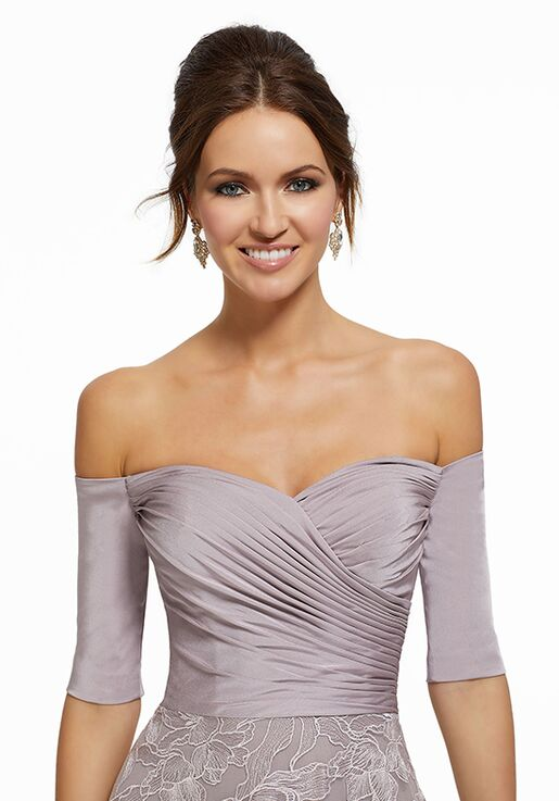 MGNY 72025 Purple Mother Of The Bride Dress