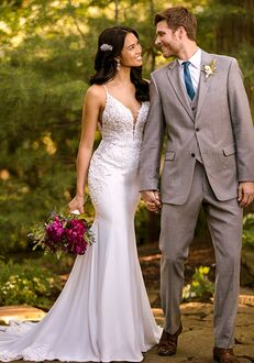 Essense of Australia D2981 Sheath Wedding Dress