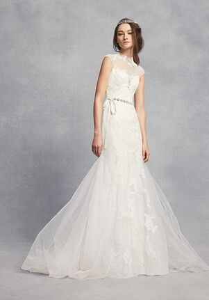 b74f227df314 White by Vera Wang White by Vera Wang Style VW351427 Mermaid Wedding Dress