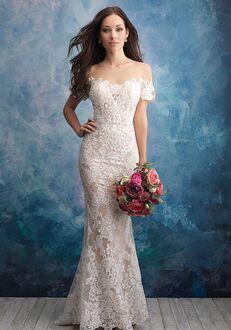Allure Bridals 9569 Sheath Wedding Dress