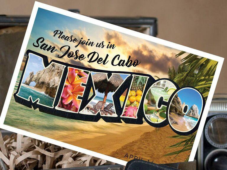 Etsy postcard destination wedding save-the-date