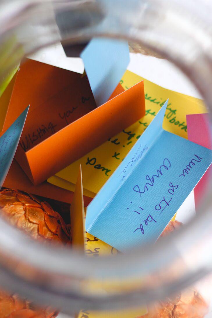 Mason Jar of Well Wishes
