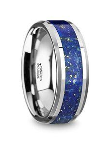 Mens Tungsten Wedding Bands W5723-TCGO Tungsten Wedding Ring