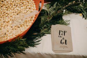 Popcorn at at PAIKKA in St. Paul, Minnesota