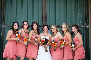 Pink Bridesmaid Look