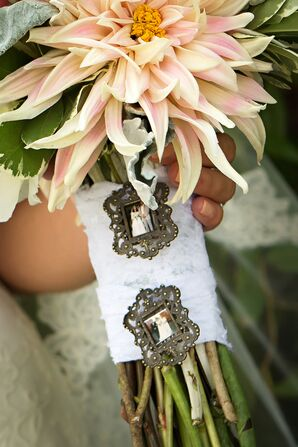 Photo Charm Bouquet Wrap