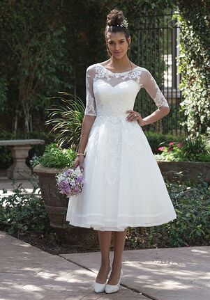 Mid Length Wedding Gowns