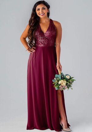 Kennedy Blue Maya V-Neck Bridesmaid Dress