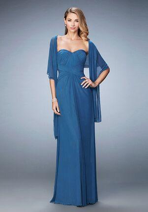 La Femme Evening 23023 Blue Mother Of The Bride Dress