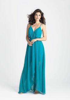 Allure Bridesmaids 1500 V-Neck Bridesmaid Dress