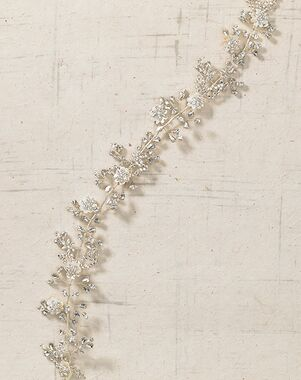 To Have & To Borrow Claudette Silver Headband