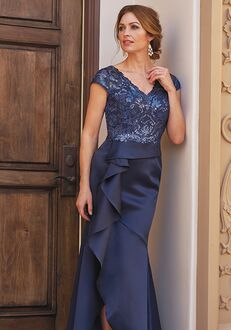 Jade Couture Mother of the Bride by Jasmine K208057 Blue Mother Of The Bride Dress