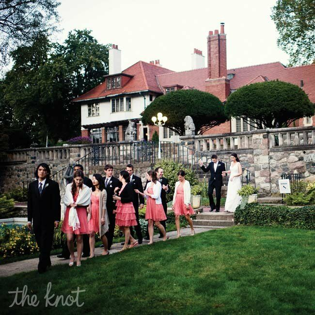 A Formal Garden Wedding In Bloomfield Hills, MI
