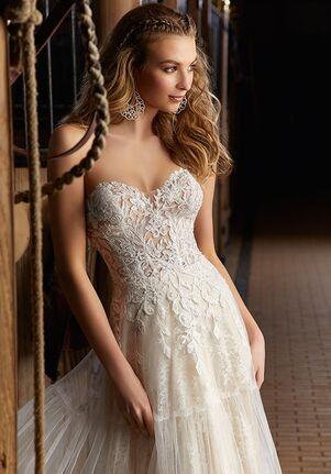 Morilee by Madeline Gardner/Voyage Ricki   6913 A-Line Wedding Dress