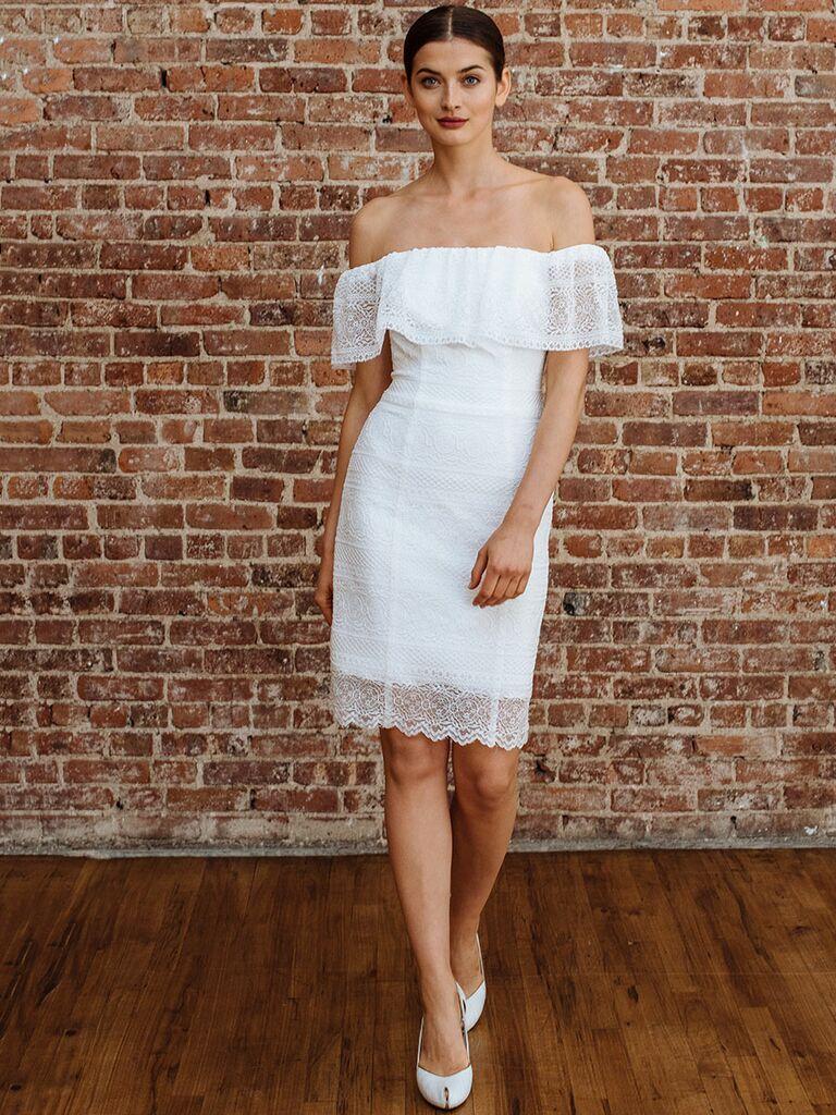 DB Studio Fall 2018 Collection: Bridal Fashion Week Photos