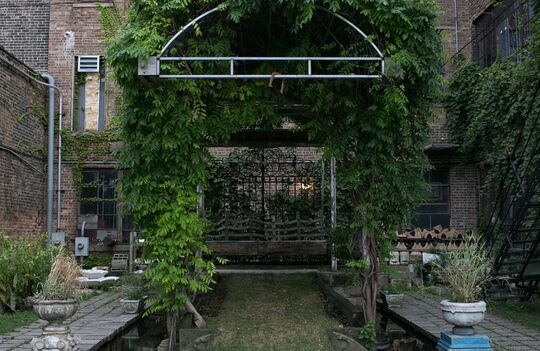 Salvage One - The Courtyard - Private Garden - Chicago, IL