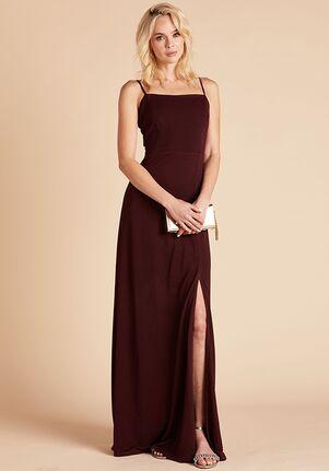 Birdy Grey Benny Crepe Dress Cabernet Scoop Bridesmaid Dress