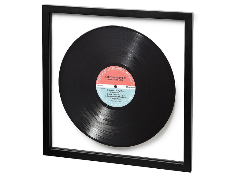 If Your Husband S A Music Lover Get Him Personalized Lp Record For 13 Year Anniversary Just Make Sure He Has Player First