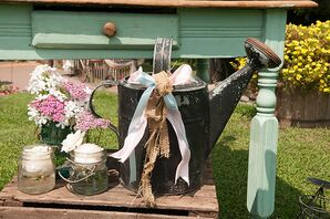 Rustic Watering Can Ceremony Accessory