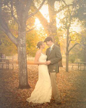 Classic Sheath Lace Wedding Dress