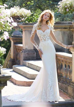 Morilee by Madeline Gardner Phillipa Sheath Wedding Dress