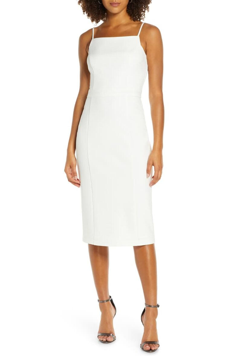 22 White Bachelorette Dresses For The Bride