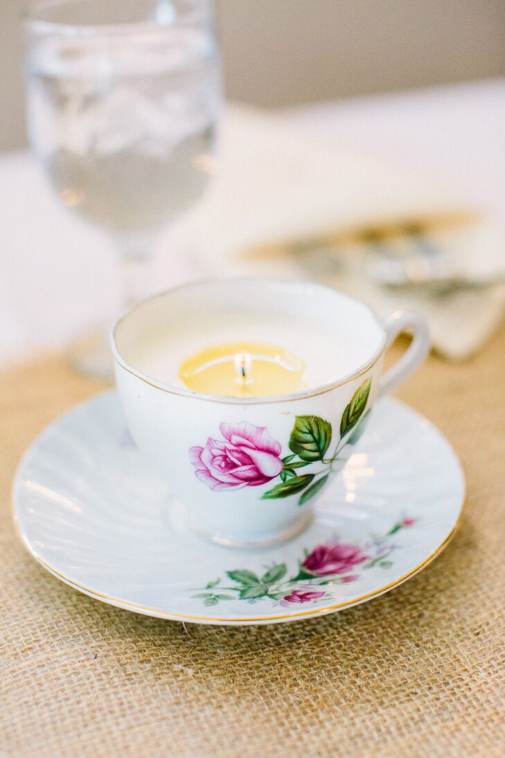 Teacup Candle Centerpieces